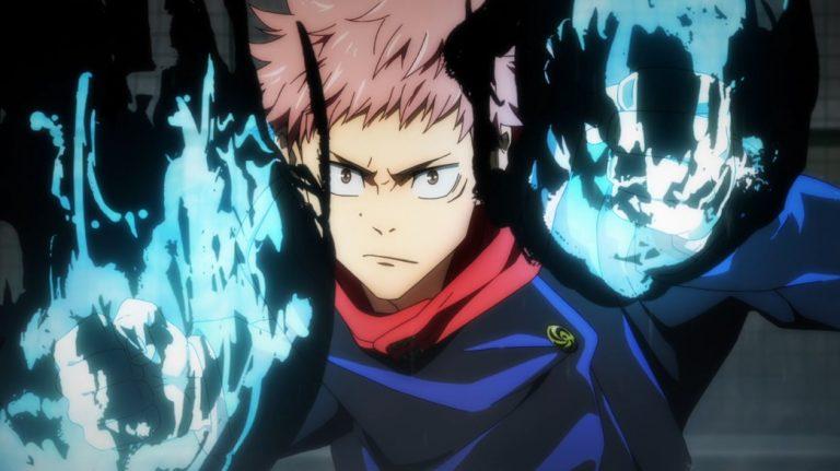 Jujutsu Kaisen Episode 9 Itodori using curse power