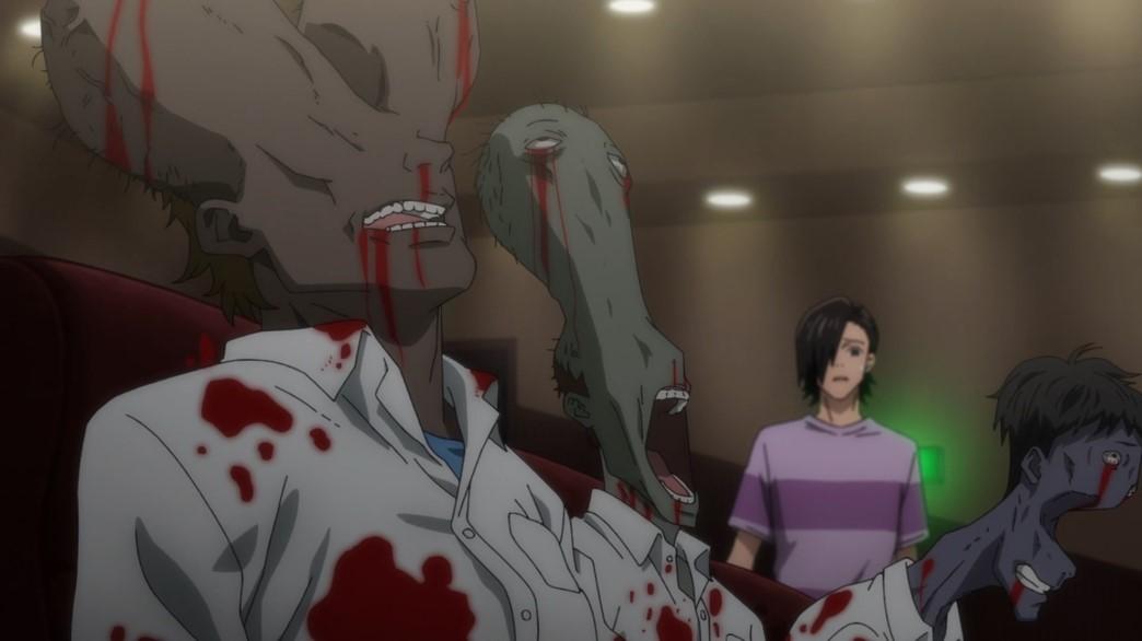 Jujutsu Kaisen Episode 9 Murdered high school kids at the cinema