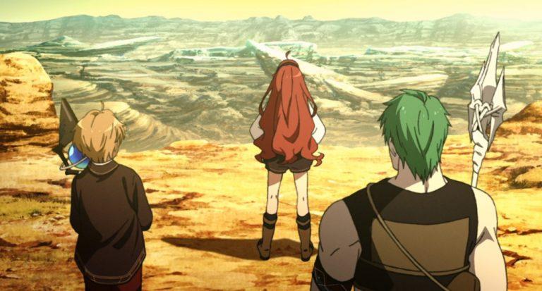 Mushoku Tensei Jobless Reincarnation Episode 9 Eris Rudeus and Ruijerd