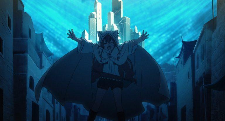Mushoku Tensei Jobless Reincarnation Episode 10 Eris enjoying the demon city