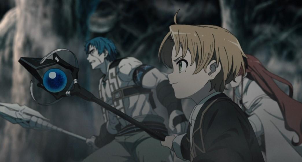 Mushoku Tensei Jobless Reincarnation Episode 11 Rudeus tells Eris and Ruijerd to wait