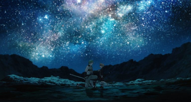 Mushoku Tensei Jobless Reincarnation Episode 11 Ruijerd and Rudeus make up