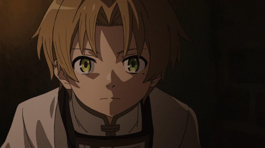 Mushoku Tensei Jobless Reincarnation Episode 12 Rudeus' Demon Eye